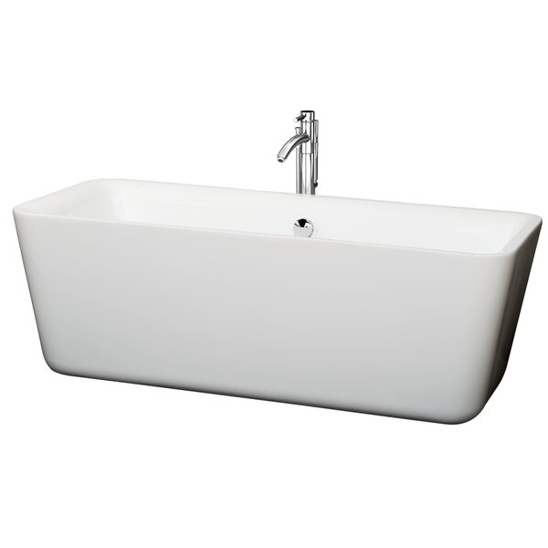 Emily 69 x 30 Soaking Bathtub by Wyndham Collection