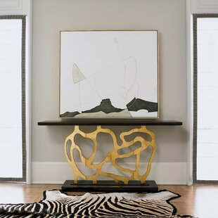 Sculpted Console Table  by Ambella Home Collection