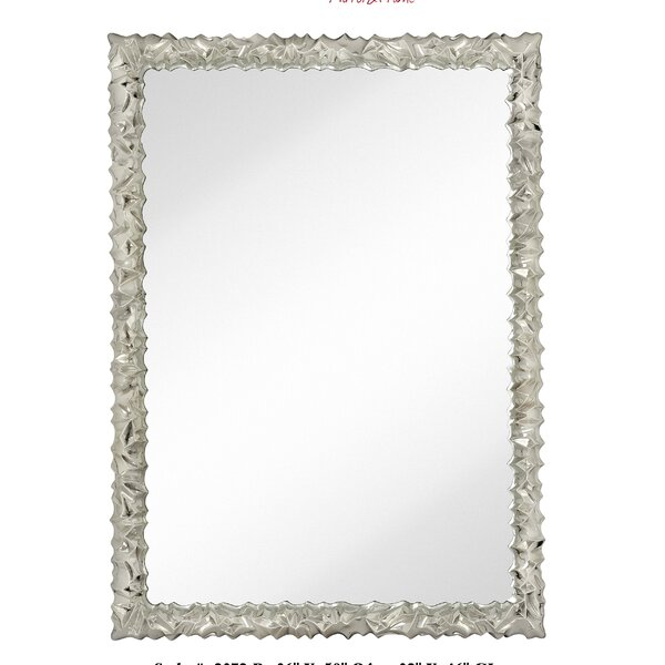 Modern Rectangular Decorative Glass Wall Mirror by Majestic Mirror