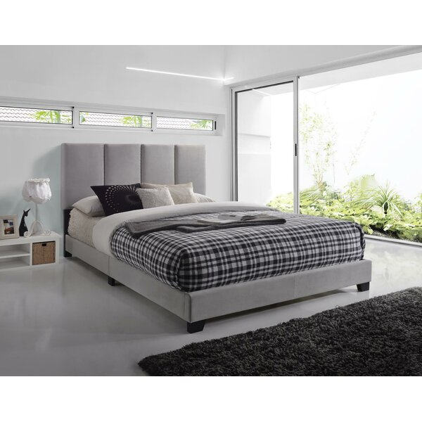 Adamsburg Upholstered Standard Bed by Wrought Studio