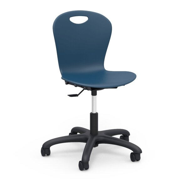 Zuma Series Plastic Classroom Chair by Virco