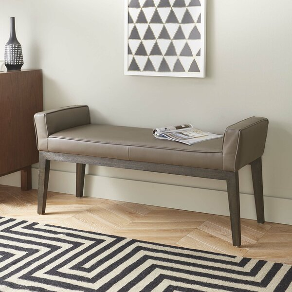 Bruns Upholstered Bench by Red Barrel Studio