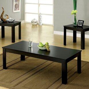 Laverock 3 Piece Coffee Table Set Winston Porter