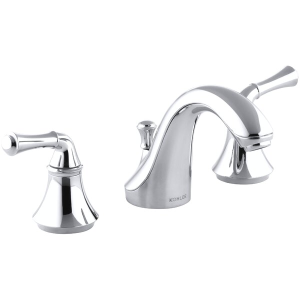 Forté Widespread Bathroom Faucet with Drain Assembly by Kohler