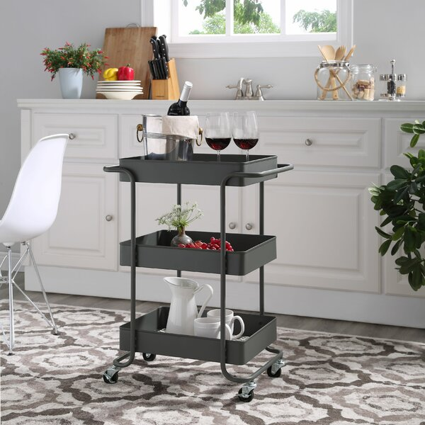 Cedarburg Bar Cart by Wrought Studio
