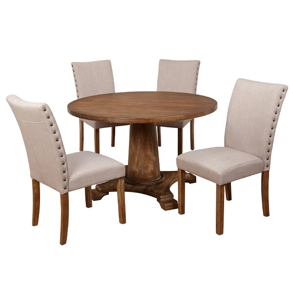 Whitner Atwood 5 Piece Dining Set by Ophelia & Co.