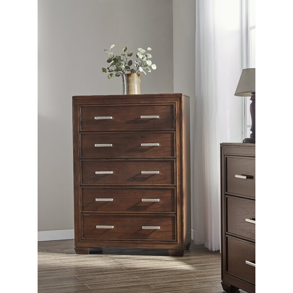 Robertsdale 5 Drawer Chest by Gracie Oaks