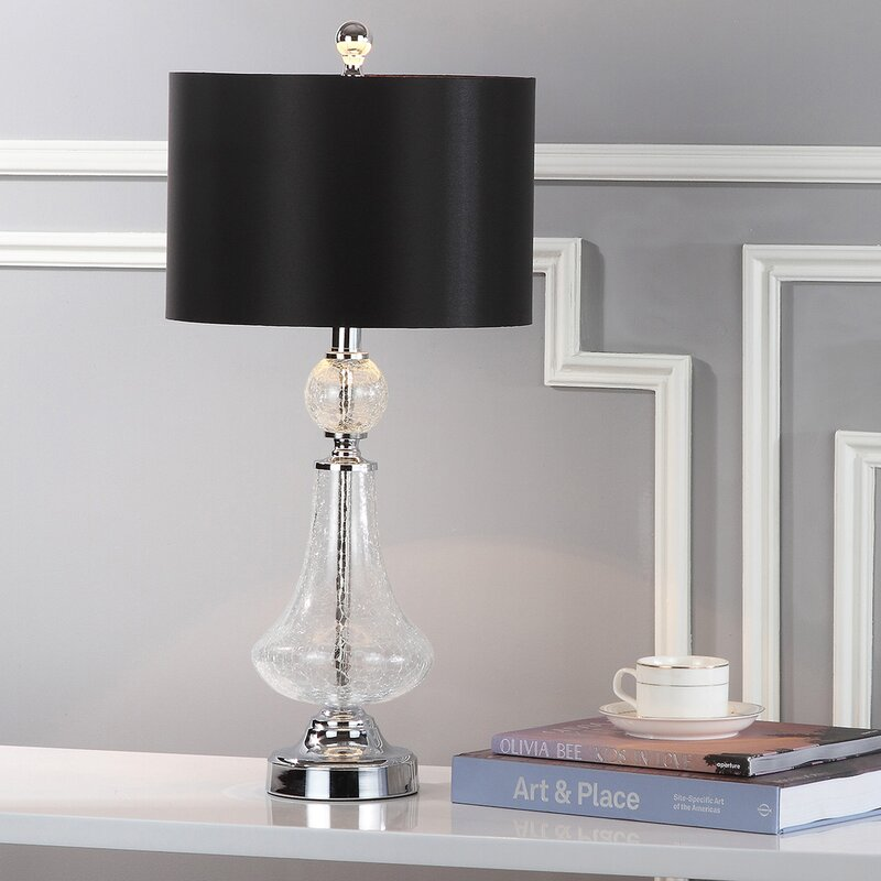 Willa arlo interiors avia crackle 24 table lamp reviews wayfair avia crackle 24 table lamp mozeypictures Images