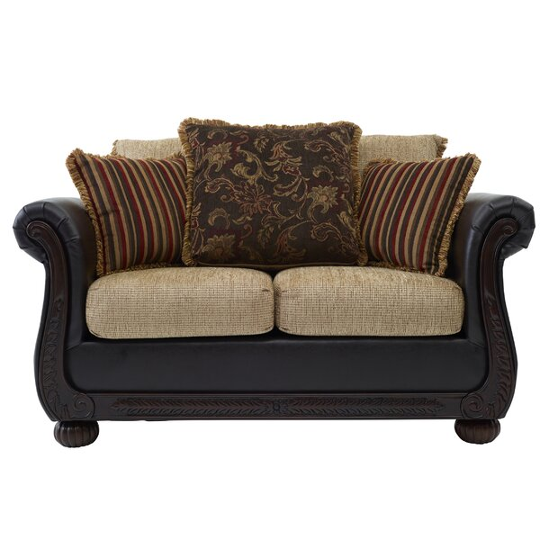 Diplomat/R With Carpeted Case Loveseat By Darby Home Co