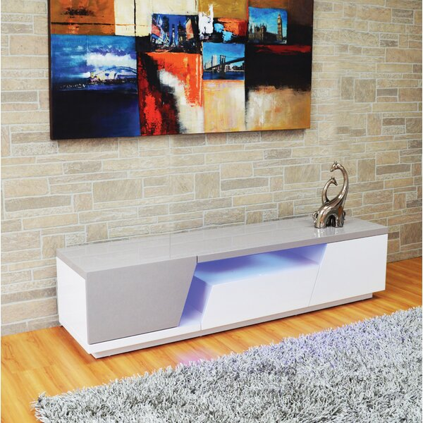 Deming Solid Wood TV Stand For TVs Up To 78