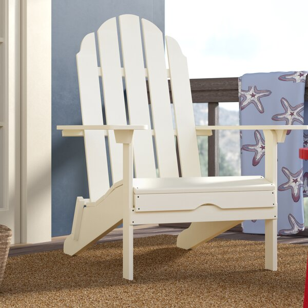 Quinault Plastic Adirondack Chair by Beachcrest Home