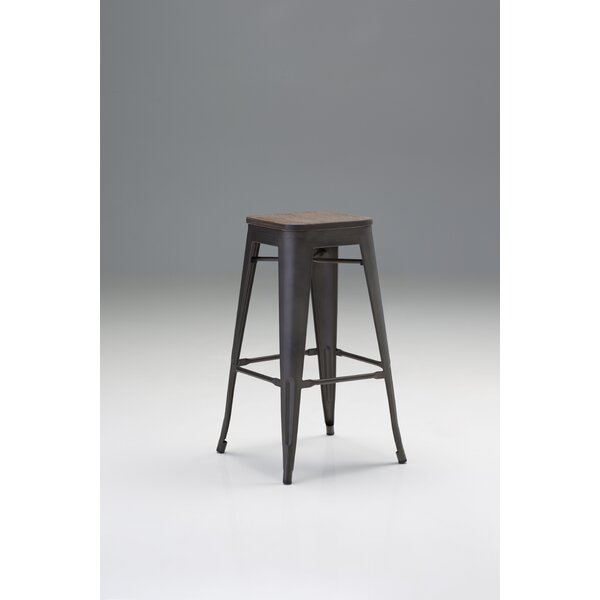 Janett 30 Bar Stool (Set of 4) by Williston Forge