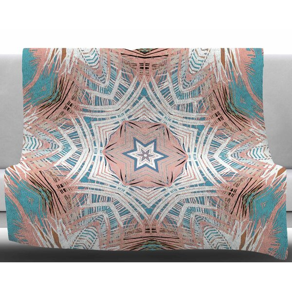 Tribe by Alison Coxon Fleece Blanket by East Urban Home