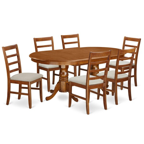 Pilcher 7 Piece Dining Set by August Grove