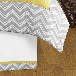 Zig Zag Queen Bed Skirt by Sweet Jojo Designs