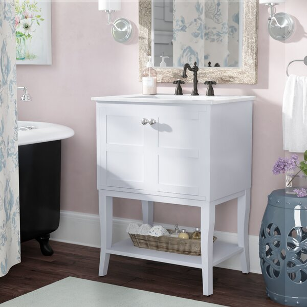 Wynkoop 24 Single Bathroom Vanity Set by Lark Mano