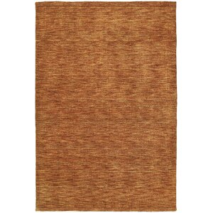 McCabe Orange Area Rug