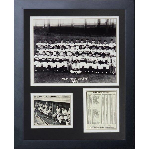 1954 New York Giants Champions Memorabilia by Legends Never Die