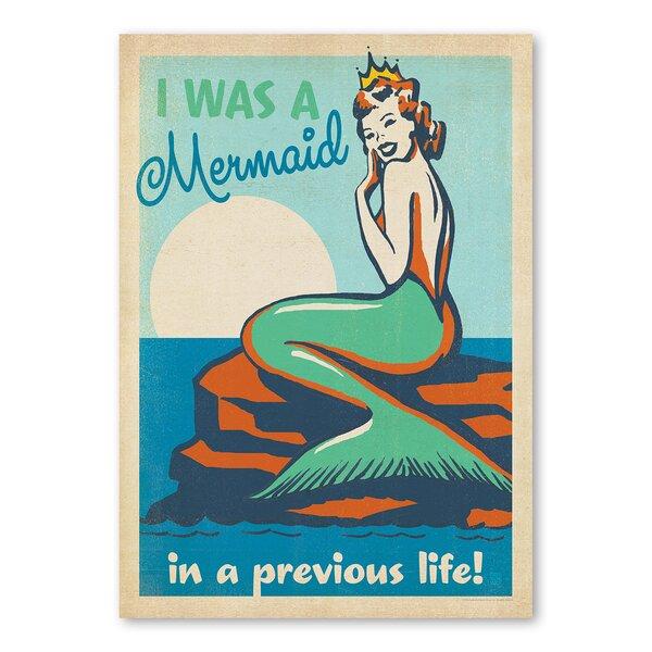 Mermaid Queen Vintage Advertisement by East Urban Home