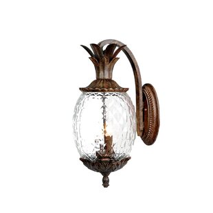 Price Check Kyra 2-Light Outdoor Sconce By Beachcrest Home