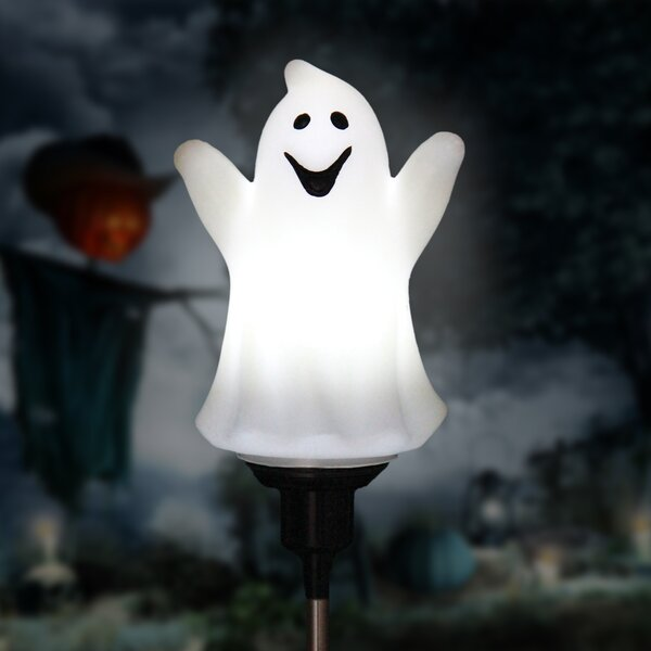 Solar Rotating Ghost Garden Stake by The Holiday Aisle
