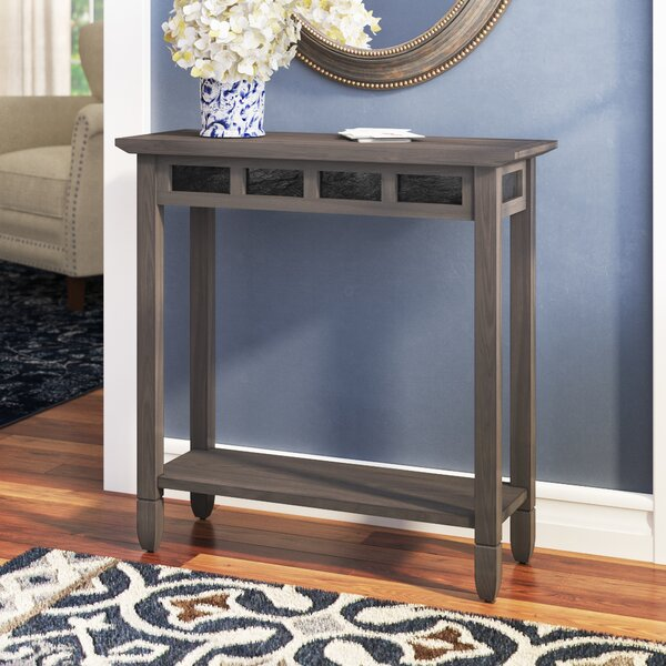 Review Glastonbury Slate Console Table