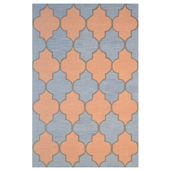 Wool Hand-Tufted Blue/Gold Area Rug by Eastern Weavers