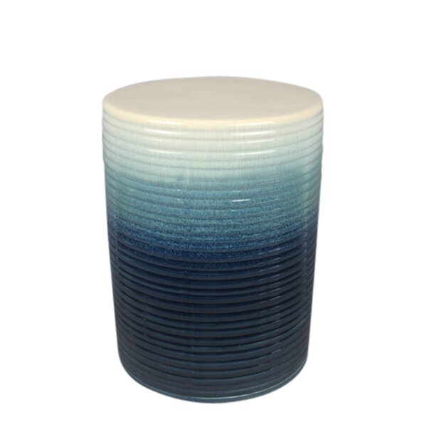 Arrington Ceramic Garden Stool by Bungalow Rose