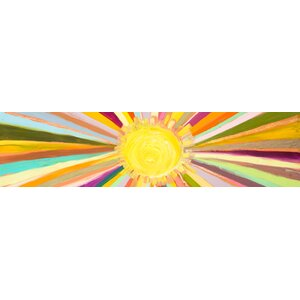 'Little Sunshine' by Eli Halpin Painting Print on Wrapped Canvas by GreenBox Art