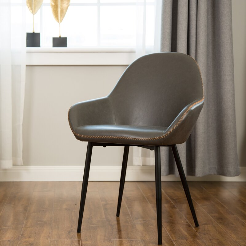 Zosia Mid Century Modern Upholstered Dining Chair