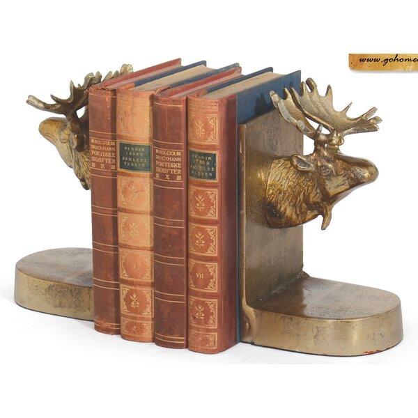 Moose Book End (Set of 2) by Loon Peak
