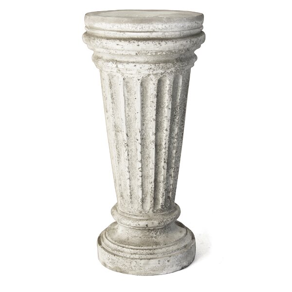 Buff Outdoor Pedestal by OrlandiStatuary