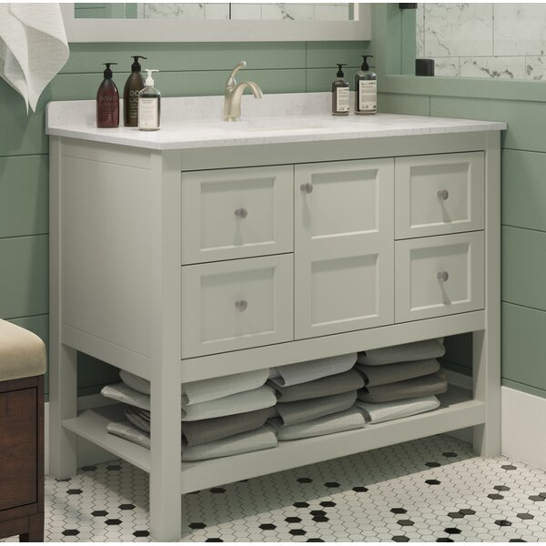 Bradninch 42 Single Bathroom Vanity Set by Highland Dunes