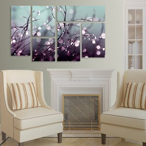 'Young' 6 Piece Photographic Print on Canvas Set by Trademark Fine Art