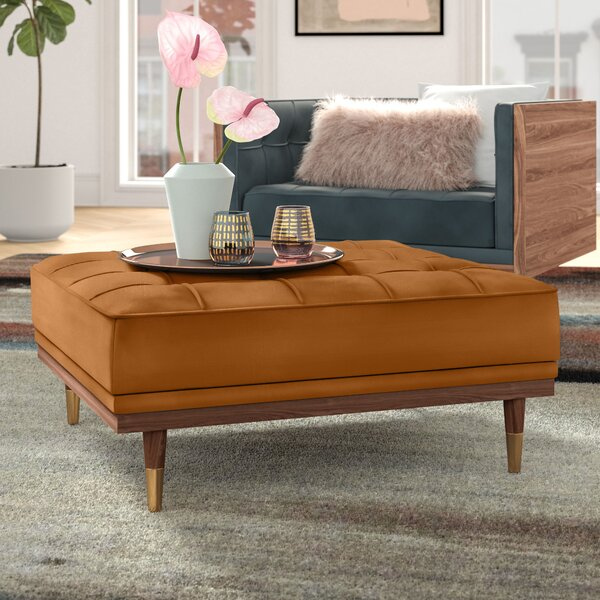 Up To 70% Off Ledger Tufted Cocktail Ottoman