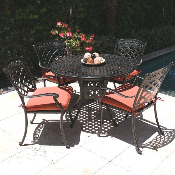 ComfortCare 5 Piece Outdoor Dining Set by Infinita Corporation