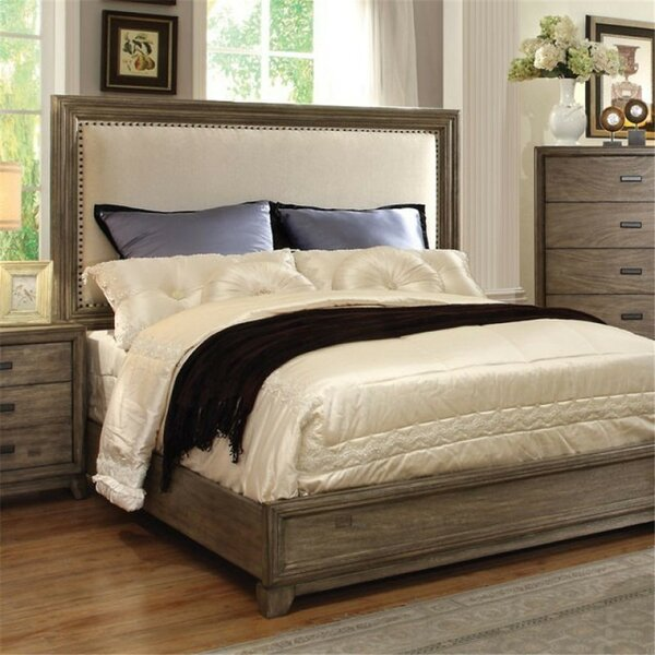 Munson Upholstered Standard Bed by Union Rustic