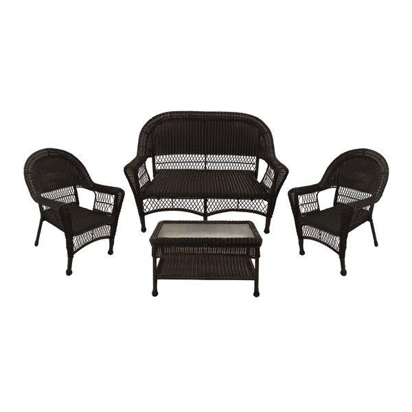 4 Piece Sofa Seating Group by LB International LB International