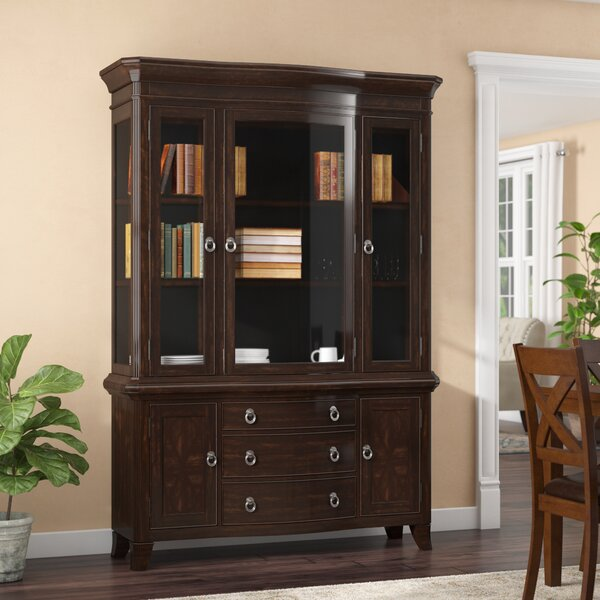 Kinsman Lighted China Cabinet by Darby Home Co
