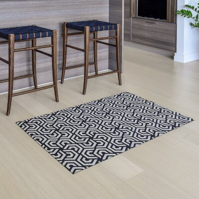 Modern Amp Contemporary Vinyl Floor Mat Allmodern