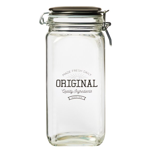 Original Glass Preserving 1.88 qt. Kitchen Canister by Global Amici