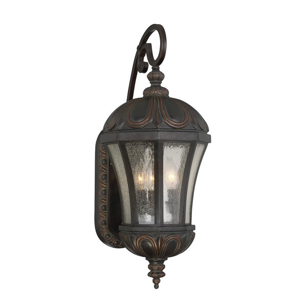 Colin 3-Light Outdoor Wall Lantern by Astoria Grand