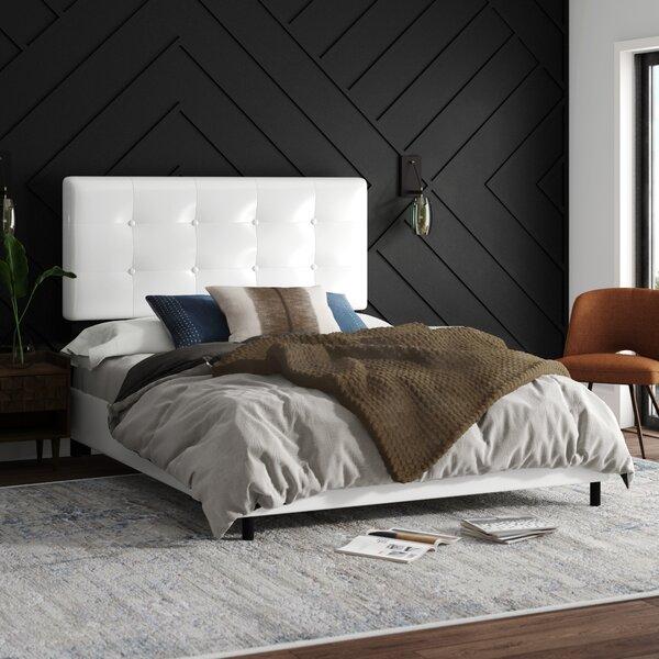 Hetrick Upholstered Standard Bed by Mercury Row
