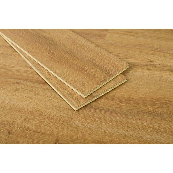 Jordon 7 x 48 x 5.5mm WPC Luxury Vinyl Plank in Ma