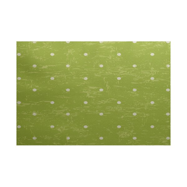 Golden Beach Light Green Indoor/Outdoor Area Rug by Bay Isle Home