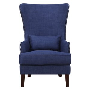 Cavender Wingback Chair by Alcott Hill