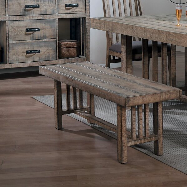 Huang Wood Bench by Union Rustic Union Rustic