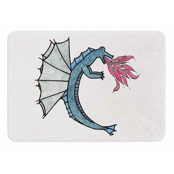 Water Dragon by NL Designs Bath Mat by East Urban Home