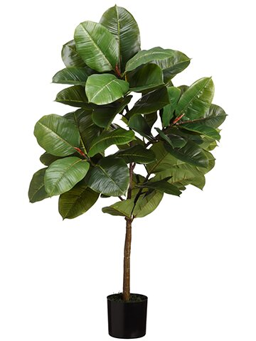 Floor Ficus Tree in Pot by Bay Isle Home