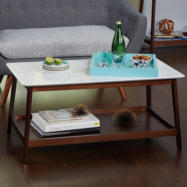 Qualls Coffee Table by Wrought Studio
